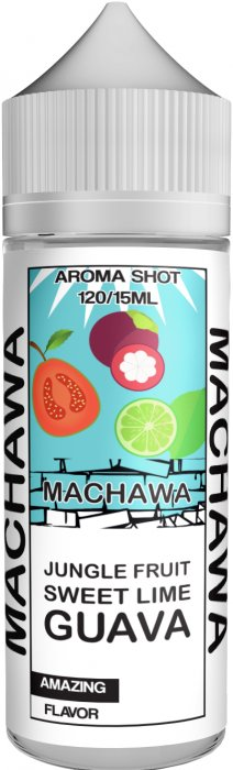 Příchuť MACHAWA Shake and Vape 15ml Jungle Fruit, Sweet Lime and Guava