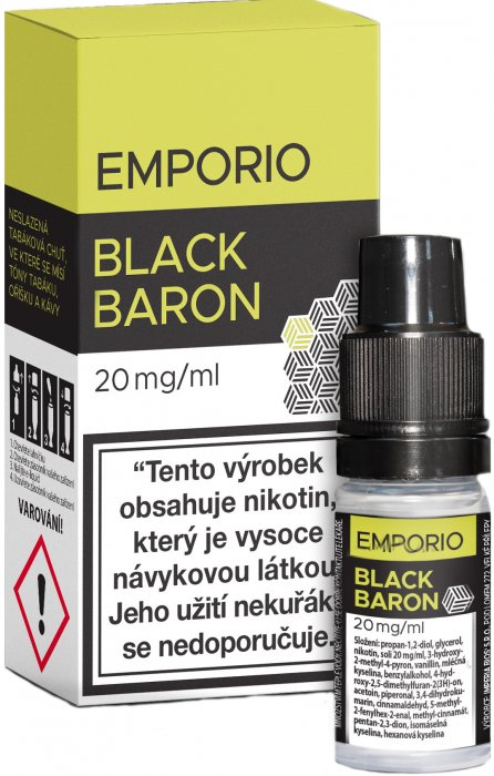 Liquid Emporio SALT Black Baron 10ml - 20mg