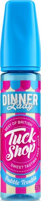 Příchuť Dinner Lady Tuck Shop Shake and Vape 20ml Bubble Trouble