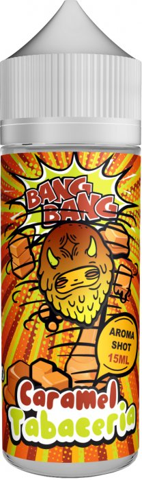 Příchuť BANG BANG Shake and Vape 15ml Caramel Tabaceria