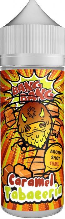 Příchuť BANG BANG Shake and Vape 15ml Caramel Tabaceria