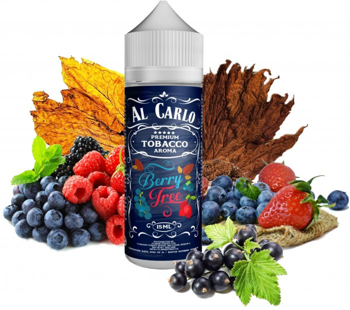 Příchuť Al Carlo Shake and Vape 15ml Berry Tree