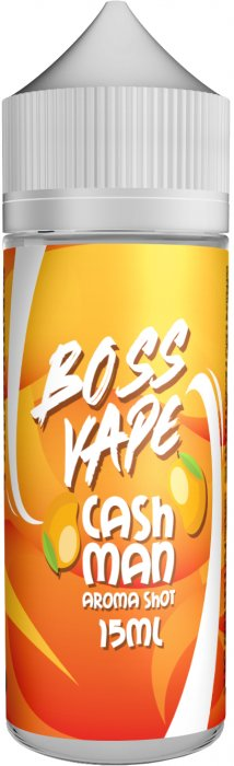 Příchuť Boss Vape Shake and Vape 15ml Cash Man