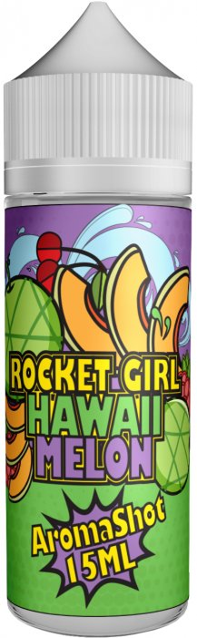 Příchuť Rocket Girl Shake and Vape 15ml Hawaii Melon
