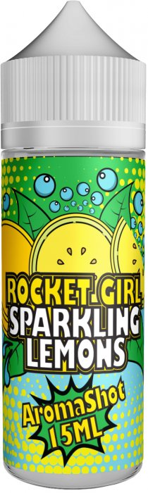 Příchuť Rocket Girl Shake and Vape 15ml Sparkling Lemons