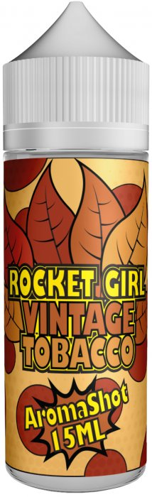 Příchuť Rocket Girl Shake and Vape 15ml Vintage Tobacco
