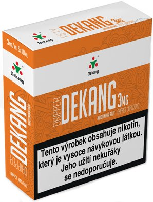 Nikotinová báze Dekang Dripper 5x10ml PG30-VG70 3mg