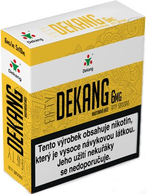 Nikotinová báze Dekang Fifty 5x10ml PG50-VG50 6mg