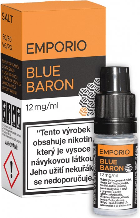 Liquid EMPORIO SALT Blue Baron 10ml - 12mg