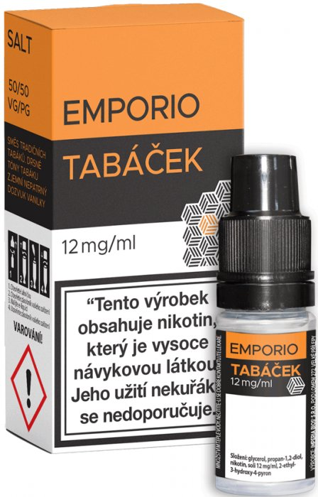 Liquid EMPORIO SALT Tobacco 10ml - 12mg
