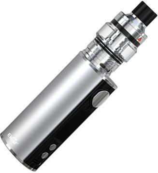iSmoka-Eleaf iStick T80 Pesso Grip Full Kit 3000mAh Silver