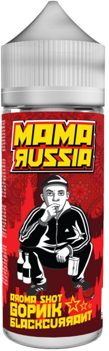 Příchuť Mama Russia Shake and Vape 15ml Gopnik Blackcurrant