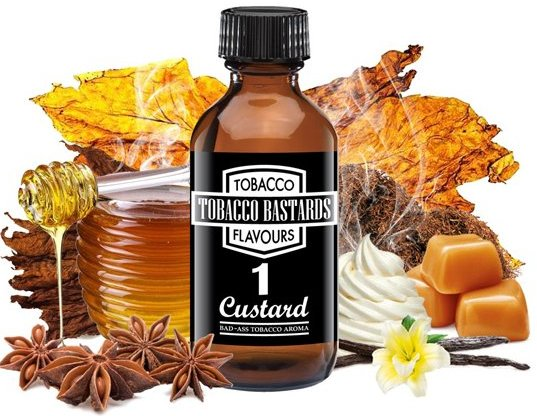 Příchuť Flavormonks 10ml Tobacco Bastards No.01 Custard