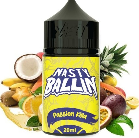 Příchuť Nasty Juice - Ballin S&V 20ml Passion Killa