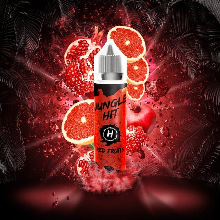 Příchuť Jungle Hit Shake and Vape 12ml Red Fruits