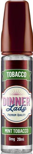 Příchuť Dinner Lady Tobacco 20ml Mint Tobacco