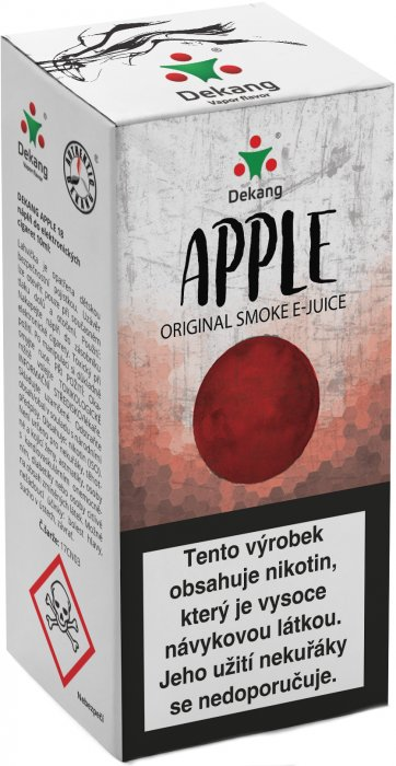 Liquid Dekang Apple 10ml - 18mg (Jablko)