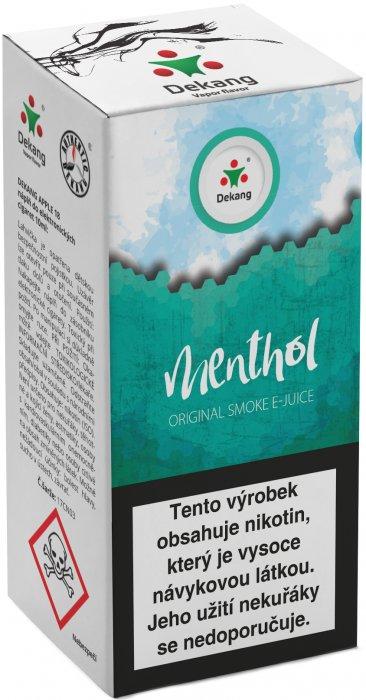 Liquid Dekang Menthol 10ml - 18mg (Mentol)