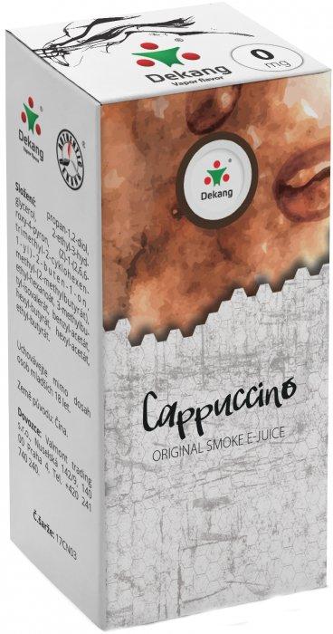 Liquid Dekang Cappuccino 10ml-0mg (Kapučíno)