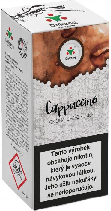 Liquid Dekang Cappuccino 10ml-11mg (Kapučíno)