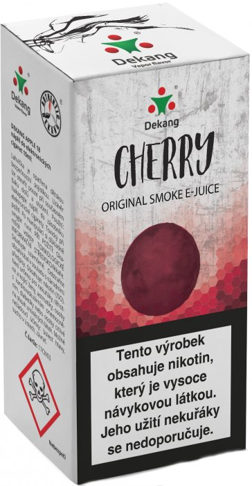 Liquid Dekang Cherry 10ml-16mg (Třešeň)