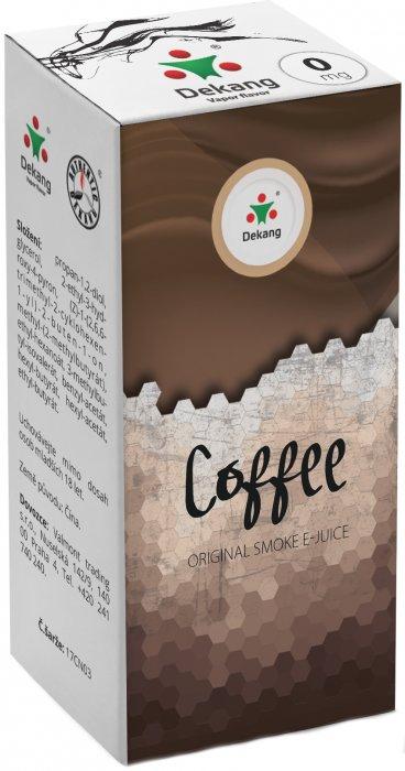 Liquid Dekang Coffee 10ml-0mg (Káva)