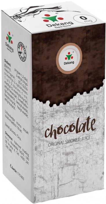 Liquid Dekang Chocolate 10ml-0mg (Čokoláda)