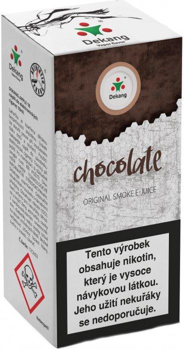 Liquid Dekang Chocolate 10ml-6mg (Čokoláda)