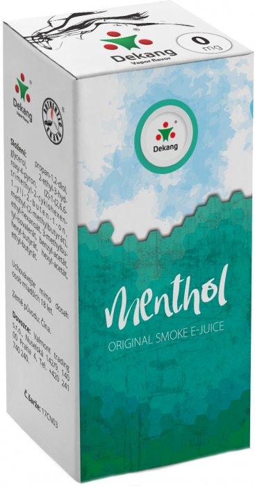 Liquid Dekang Menthol 10ml - 0mg (Mentol)
