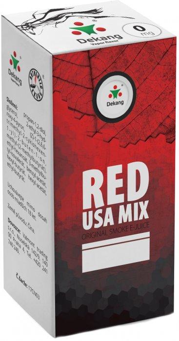 Liquid Dekang Red USA MIX 10ml - 0mg