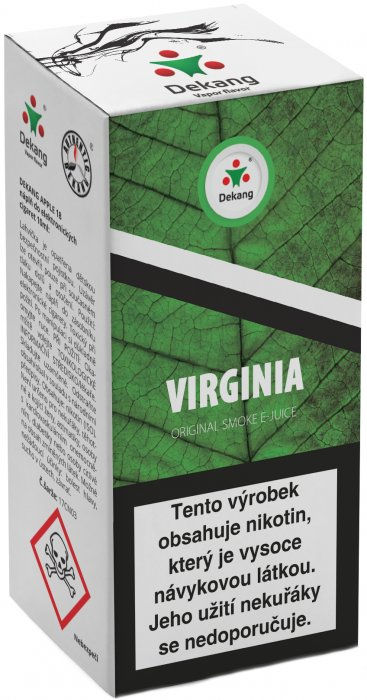 Liquid Dekang Virginia 10ml - 11mg (virginia tabák)