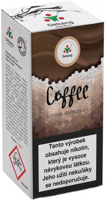 Liquid Dekang Coffee 10ml-18mg (Káva)
