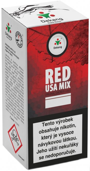 Liquid Dekang Red USA MIX 10ml - 18mg
