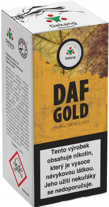 Liquid Dekang DAF Gold 10ml - 6mg