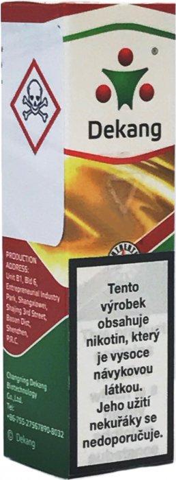 Liquid Dekang SILVER Dnh-Deluxe tobacco 10ml -16mg