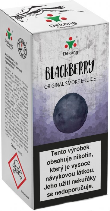 Liquid Dekang Blackberry 10ml - 11mg (Ostružina)