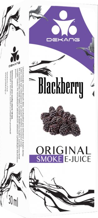 Liquid Dekang Blackberry 10ml - 24mg (Ostružina)