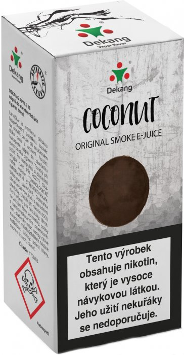 Liquid Dekang Coconut 10ml - 18mg (Kokos)