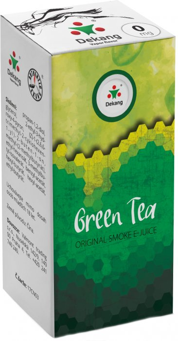 Liquid Dekang Green Tea 10ml - 0mg (Zelený čaj)