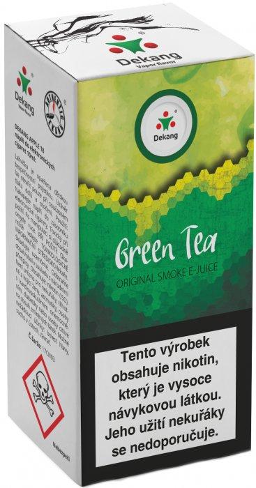 Liquid Dekang Green Tea 10ml - 18mg (Zelený čaj)