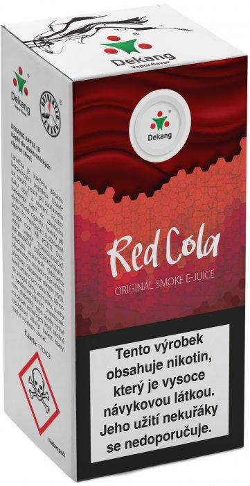 Liquid Dekang Red Cola 10ml - 6mg (Kola)