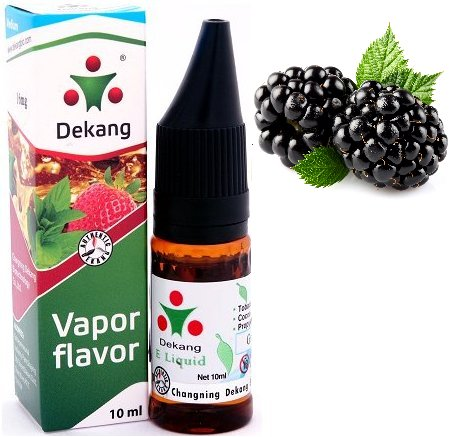 Liquid Dekang SILVER Blackberry 10ml - 24mg (Ostružina)