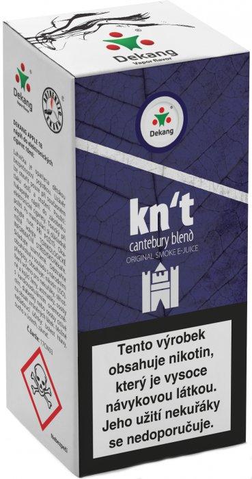 Liquid Dekang Kn´t - cantebury blend 10ml - 18mg