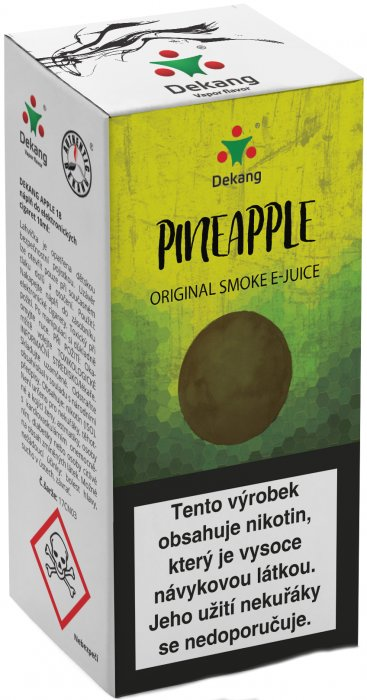 Liquid Dekang Pineapple (ananas) 10ml - 11mg