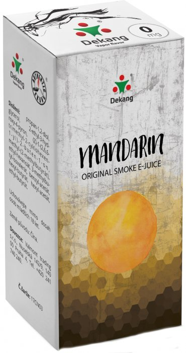 Liquid Dekang Mandarin 10ml - 0mg (mandarinka)