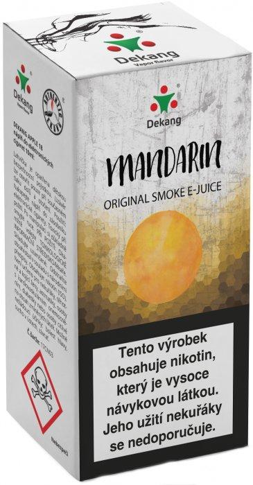 Liquid Dekang Mandarin 10ml - 18mg (mandarinka)